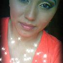 Brown Glitter Look♥