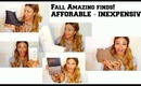 Justfab Best Fall Fashion Shoes + Quick Beauty Haul