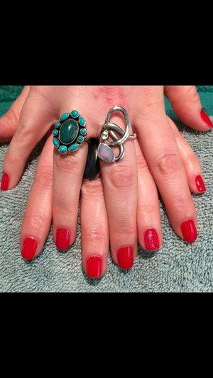 RCM gel nail polish