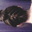 upside down braid i did on a friend