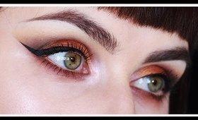 Copper/Golden Extended Eye Makeup Tutorial | LetzMakeup