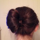 Hair Bow Bun💖🎀