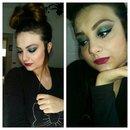 Make up glam rock