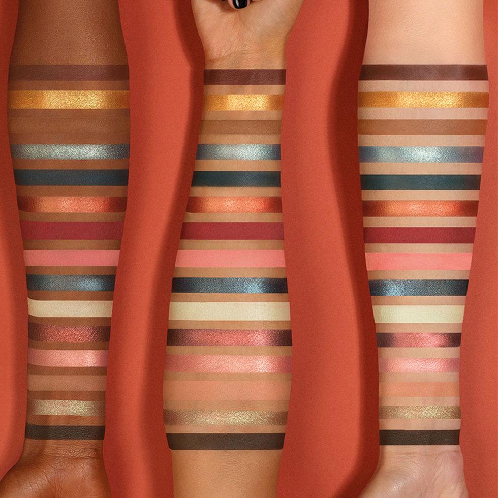Natasha Denona Zendo Palette Arm Swatches