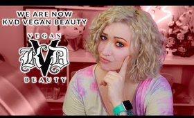 KVD Vegan Beauty: How NOT to Rebrand