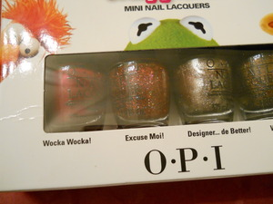 OPI muppets in the box