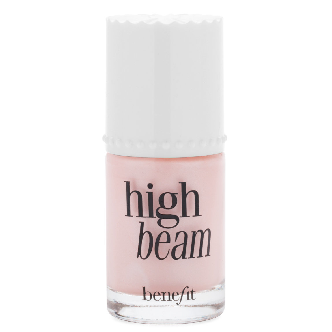 Benefit Cosmetics High Beam Liquid Highlighter product smear.