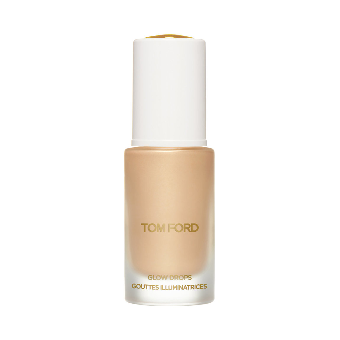TOM FORD Soleil Glow Drops Liquid Sky product smear.