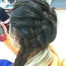 French braid side