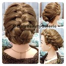 The Classy Lady Crown French Braid