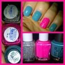 TREND - Turquoise & Neon Sparkle