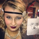 Makeup fit for the 20's.