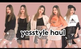 Yesstyle Fall Try-on Haul 2019 ✨ Massive Clothing Haul