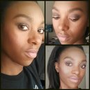 Brown smokey eye with Copperthorn liner