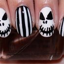 Jack Skellington Nails (The Nightmare Before Christmas Nails)