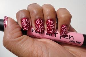 Inspired by Tereska from beautylish: http://www.chinadolltt.blogspot.com/2012/04/delicate-nail-art.html