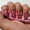 Simple delicate Nail art