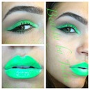 Neon Alien Green