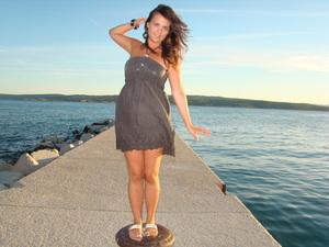 on holiday!!!beautiful Crikvenica in Croatia!!<3