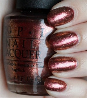 From the Mariah Carey Collection. See more swatches & my review here: http://www.swatchandlearn.com/opi-sprung-swatches-review/