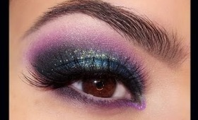 """Holiday Lights"" Smokey Eye for NYE"