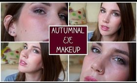 Autumnal/Fall Eye Makeup ft. Urban Decay Naked 3