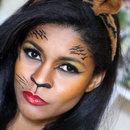 Maquiagem Tigresa Halloween