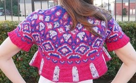 Magical Purl Maya: The Sarah Crop, Test Knitting and The Curse of Gift Knitting