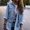 Chic denim look :)