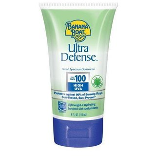 Banana Boat Ultra Defense Sunscreen Lotion