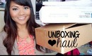 Unboxing Haul: E.L.F. Makeup, Jewelry, Halloween Costumes!