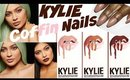 KYLIE JENNER LIP KIT INSPIRED NAIL ART | GIVEAWAY