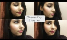 Valentine's Day Makeup LOOKS |Sapna Ganglani