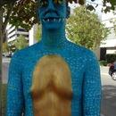 Dragon body paint