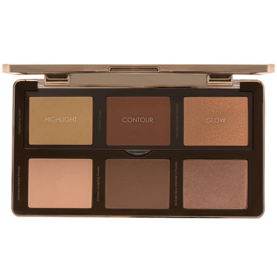 Natasha Denona Sculpt & Glow Palette alternative view 1 - product swatch.