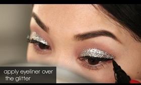 NYE Glitter Eyes!!!