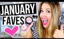 JANUARY FAVORITES 2016 || New Makeup & Skincare I'm Loving!
