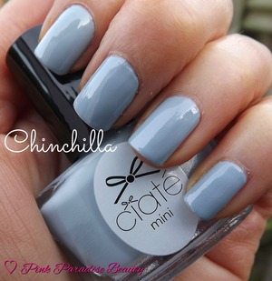 A light Creme finish Grey from the Ciate Minimanimonth Advent Calender 2013