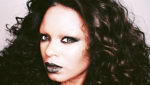 A makeup transformation.
