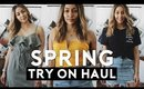 HUGE Spring Clothing Try On HAUL 2018 | Nastazsa