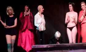 """Lady Zombie performs """"Keep Young & Beautiful"""" as the Countess Bathory in Coney Island (5.3.12)"""