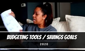 Budgeting Tools | Savings Goals | 2020