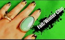 Fall/Winter Simple Chic Nails & Tips