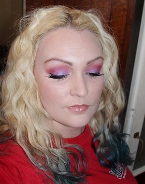 FOTD Bright Purple, Pink and Red