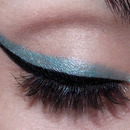 Black & Blue eyeliner .