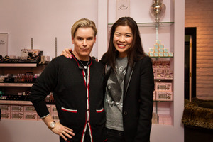 Me with the Too Faced's fabulous Jerrod Blandino!