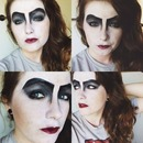 'Frank N' Furter' Rocky Horror Picture Show Makeup (Part 2)