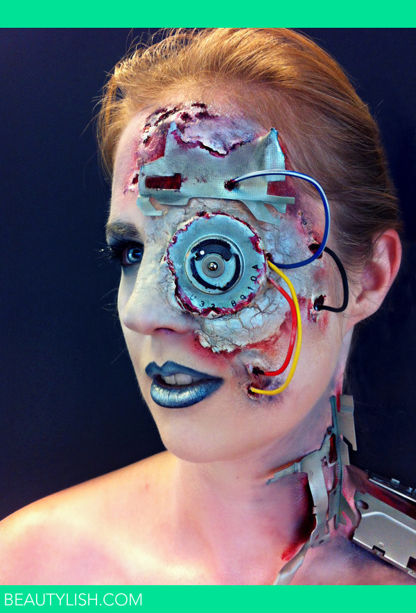 Cyborg Makeup Sanne V S Photo Beautylish