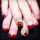 pre christmas nails
