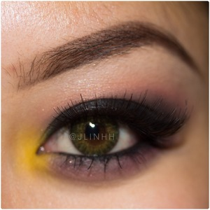 Using all eyeshadows by MAC